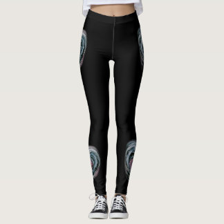Dark heart leggings