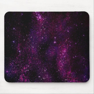 Dark Hipster Galaxy Universe Mouse Pad