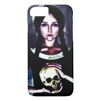Dark Horror Girl Airbrush Art iPhone 7 Case