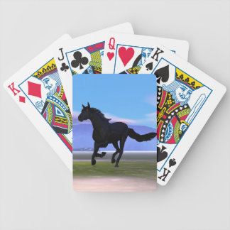 Dark Horse Bicycle Playing Cards