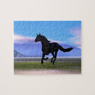 Dark Horse Jigsaw Puzzle