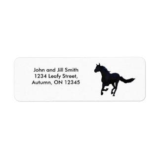 Dark Horse Return Address Label