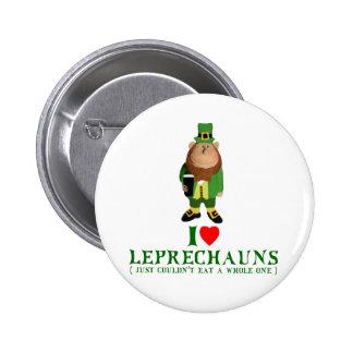 Dark humor Leprechauns 6 Cm Round Badge