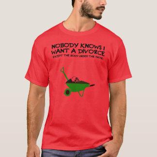 Dark humour divorce T-Shirt