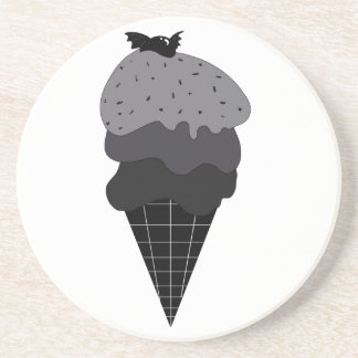 Dark Ice Cream Coaster