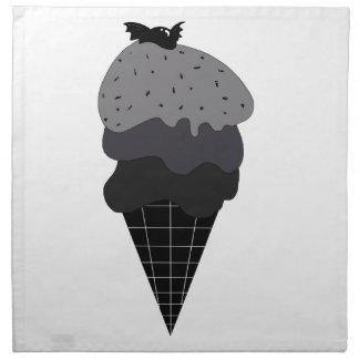 Dark Ice Cream Napkin