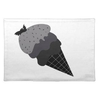 Dark Ice Cream Placemat