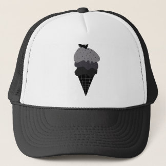Dark Ice Cream Trucker Hat