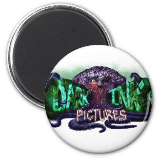 Dark Ink Logo Magnets