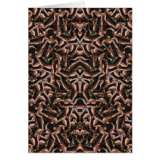 Dark Intricate Modern Tribal Card