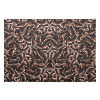 Dark Intricate Modern Tribal Placemat