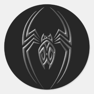 Dark Iron Spider Round Sticker