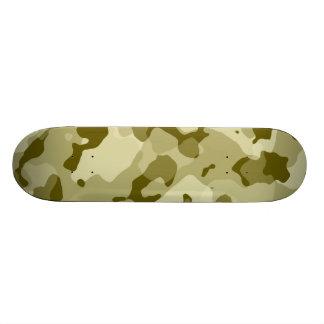 Dark Khaki Camo; Camouflage Skate Deck