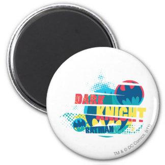 Dark Knight 6 Cm Round Magnet