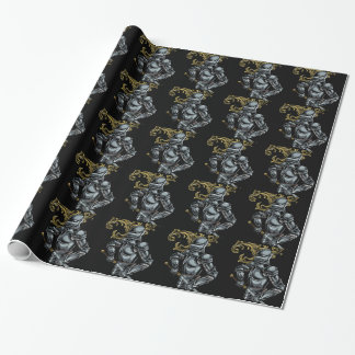 Dark Knight Armour Wrapping Paper