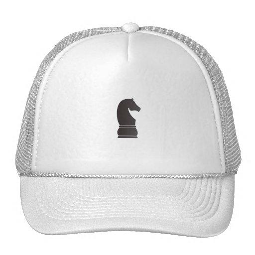 Dark knight - Black Horse Trucker Hat