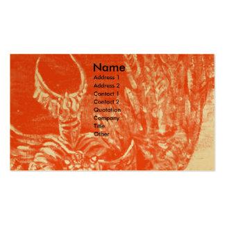 DARK KNIGHT Gold metallic Business Card Template