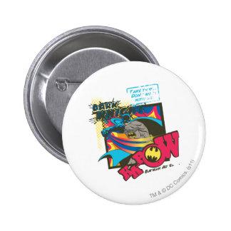 Dark Knight KA-POW 6 Cm Round Badge