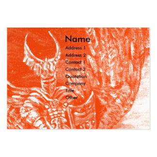 DARK KNIGHT Pearl Paper Business Card Template