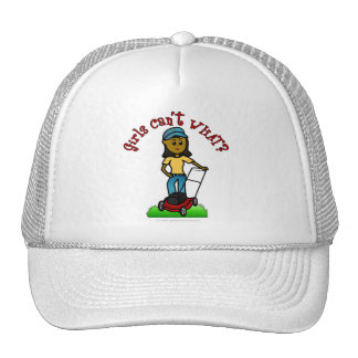 Dark Lawn Care Girl Mesh Hat
