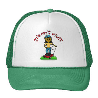 Dark Lawn Care Girl Trucker Hat