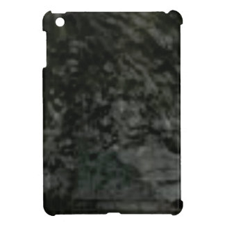 dark lichen on rocks case for the iPad mini