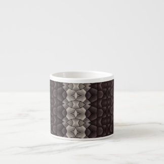 Dark & Light Pattern Espresso Cup