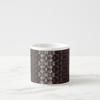 Dark & Light Pattern Espresso Mug