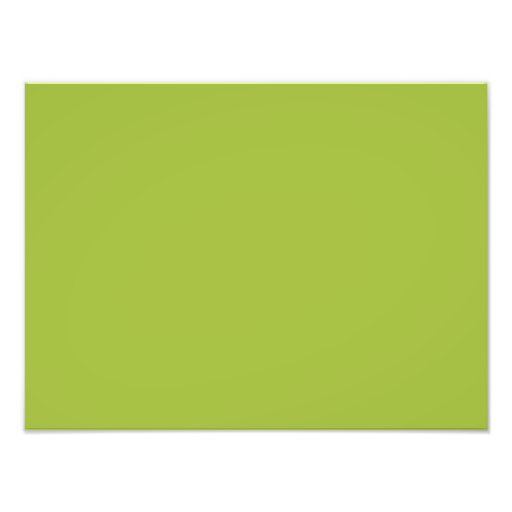 Dark Lime Green Color Grey Trend Blank Template Photo Art