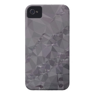 Dark Liver Lavender Abstract Low Polygon Backgroun iPhone 4 Covers