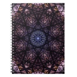 Dark Mandala Design Notebooks