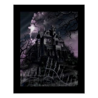 """Dark Mansion"" Poster"