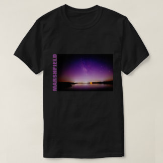 DARK Marshfield Purple Starry Night T-Shirt