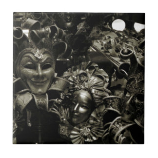 Dark Masquerade Ceramic Tile