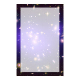 Dark Matter in Galaxy Cluster Abell 1689 (Hubble T Stationery