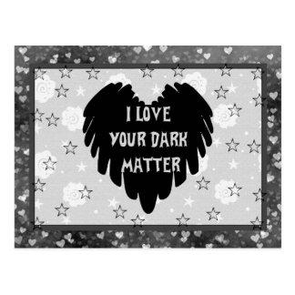 Dark Matter Postcard