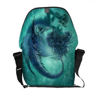 Dark Mermaid Messenger Bag - Secret Kisses