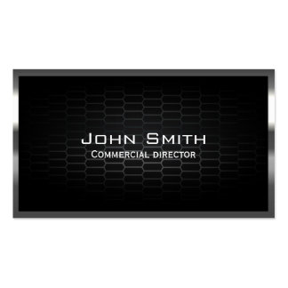 Dark Metal Cells Commercial Director Business Card