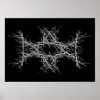 dark metal poster