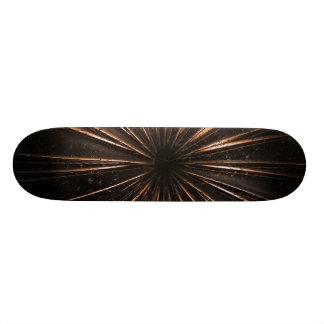 Dark Metal Sun Custom Skateboard