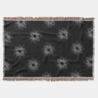 dark metal throw blanket