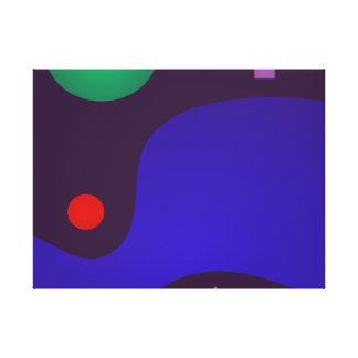 Dark Minimalism Canvas Print