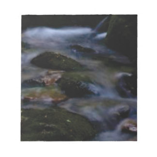 dark movement of water notepad