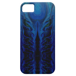 Dark mysterious octopus creature barely there iPhone 5 case
