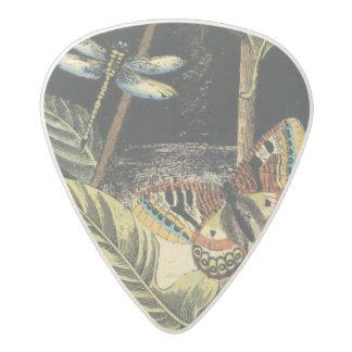 Dark Nature Scene by Vision Studio Acetal Guitar Pick