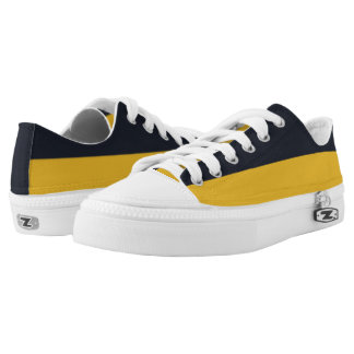 Dark Navy and Nu Gold Two-Tone Lo-Top
