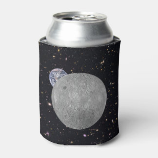 Dark or Far Side of the Moon Starry Sky Can Cooler