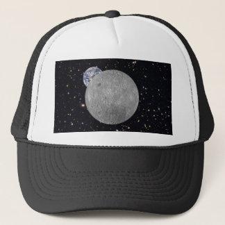 Dark or Far Side of the Moon Starry Sky Trucker Hat