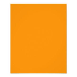 Dark Orange 11.5 Cm X 14 Cm Flyer