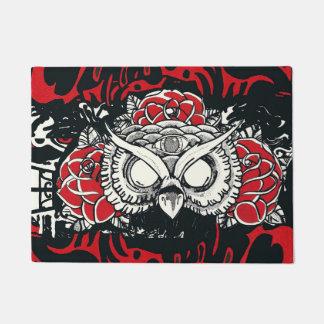 Dark Owl door mat